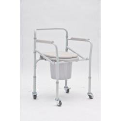 Кресло-туалет на колесах...